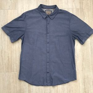 Blue L Guess button down casual shirt